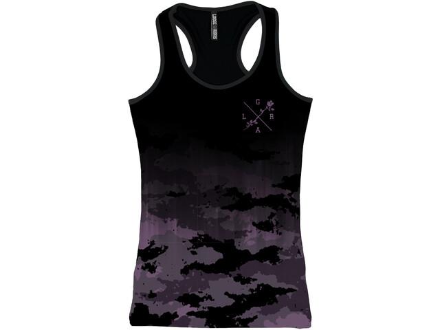 Loose Riders Lilac Tank Top Kobiety, czarny/fioletowy